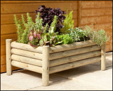 wheelchair accessible garden planter